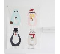 (3101) Медведь, кролик, енот, пингвин (купон)