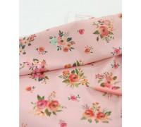 (2820) DTP  Мелкие цветочки (розовый)