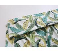 (3786) DTP Банановые листья на белом