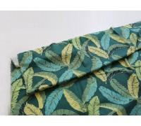 (3787) DTP Банановые листья на зеленом