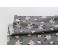 (3792) DTP Цветы на сером