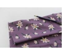 (3793) DTP Цветы на фиолетовом