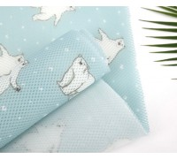 (3953) 3D Air Mesh Polar Bear