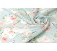 (3878) DTP Цветы (голубой)
