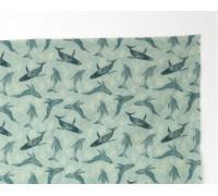 (4077) DTP Лен киты на мятном