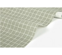 Лен 267 Neutral colors : cross stripe