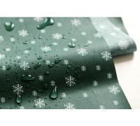 Ламинированный хлопок 61 Winter tree : snowing