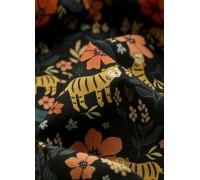 (1067037) Тигр в лесу (черный)