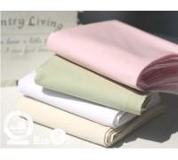 (FA1541) 100% хлопок ткань однотонная 4 цвета