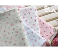 (FA1553) Хлопок мелкие розы Miko
