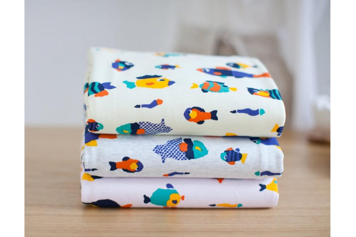(0431) Рыбки (три цвета)