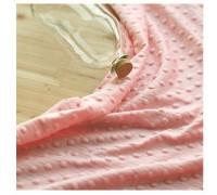 (QH59664) плюш 100% микрофибра (розовый)