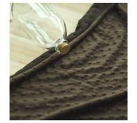 (QH59654) плюш 100% микрофибра (коричневый)